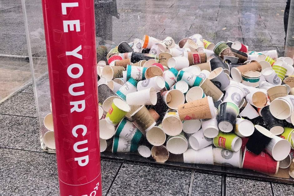 War on Waste: SA coffee chain launches coffee cup recycling program