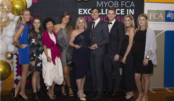 2018 EXCELLENCE IN FRANCHISING AWARD WINNERS