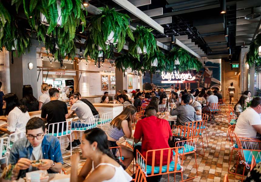 Betty's Burgers Opens on Rundle Street