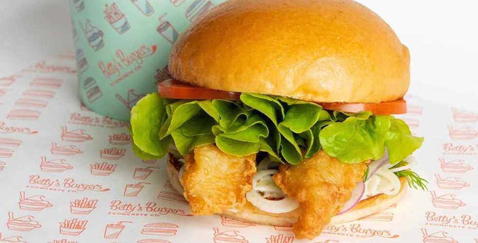 Betty's Burgers are putting a twist on the classic fish & chips