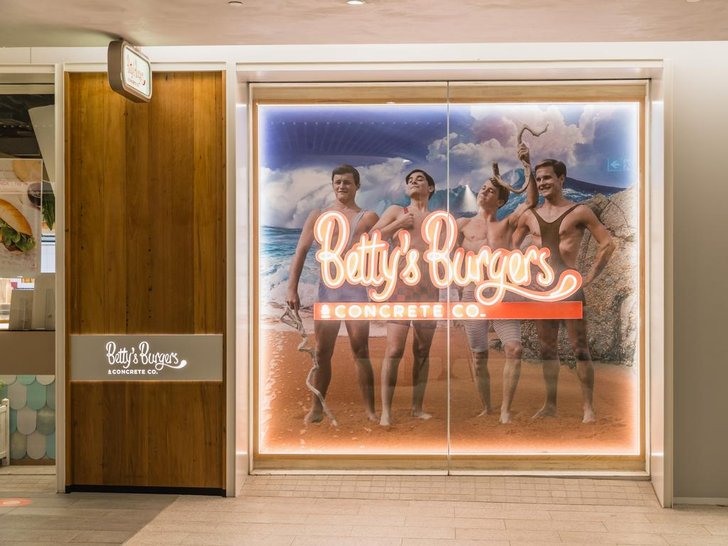 Betty's Burgers & Concrete Co take out best burger in Parramatta