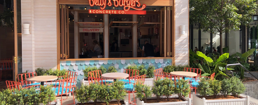 West Village welcomes a new coastal-inspired outpost from Betty's Burgers
