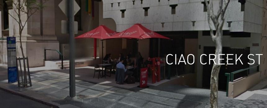 Ciao Creek Street, Cibo Espresso has arrived